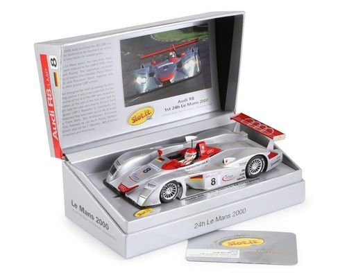 Slot.it Audi R8 LMP - 1st LeMans 2000  #8