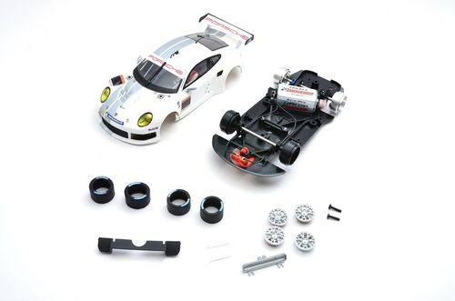 "Scaleauto Porsche 991  ""Cup racing kit white"""