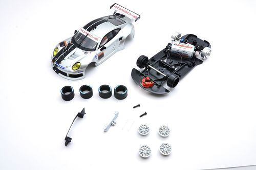 "Scaleauto Porsche 991  ""Cup racing kit silver"""