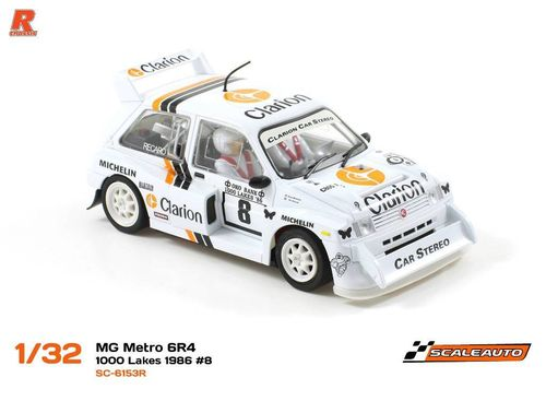 "Scaleauto ""R"" MG Metro 6R4 ""Clarion"" #8"