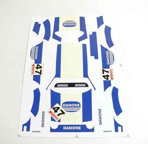 "Decal Simca 1000 ""Danone"""