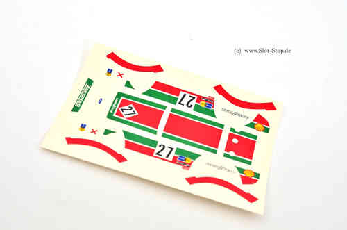 Decal Ford MKII Zakspeed