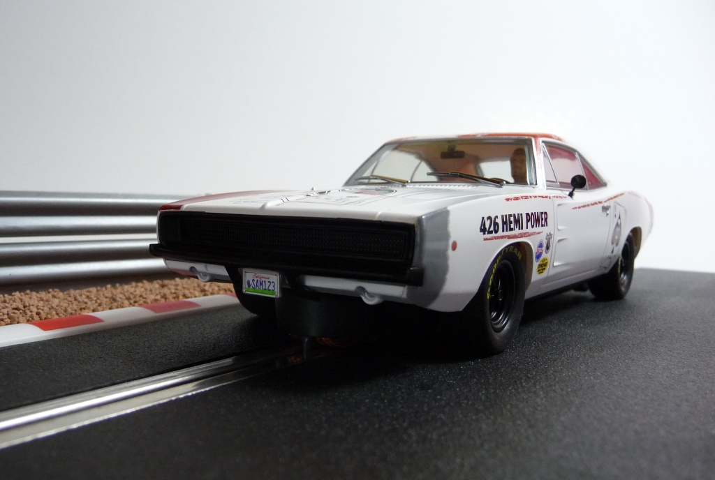 x dodge charger stockcar 39 68 hemi power slot slotcars g nstig kaufen. Black Bedroom Furniture Sets. Home Design Ideas