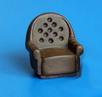 upholstered chair 1/35 scale