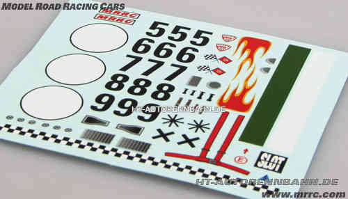 "MRRC Decal-Set ""Flame-Design"""