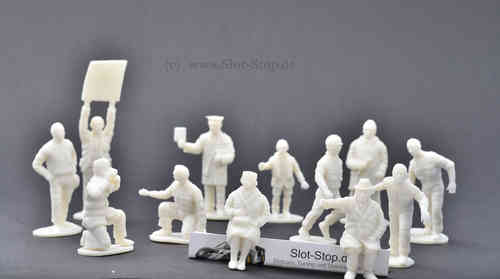 12 unpainted figures from MRRC