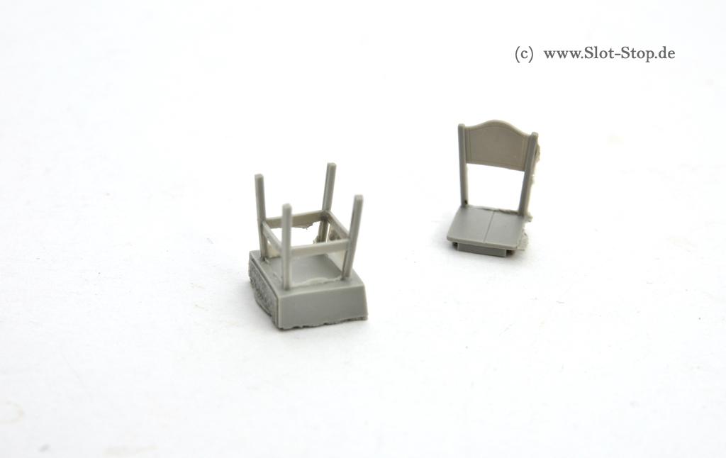 1 32 stuhl k chenstuhl aus holz resin bausatz. Black Bedroom Furniture Sets. Home Design Ideas