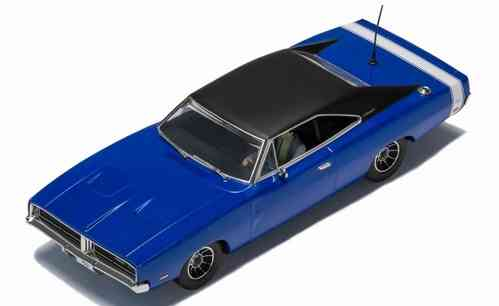 "Scalextric Dodge Charger ""Metallic blue"" Streetcar"