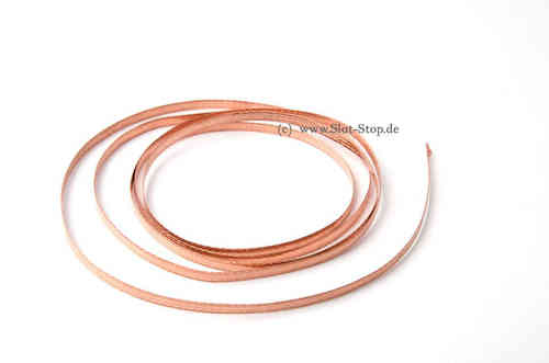 Copper braid blanc (for Pickups) 100cm