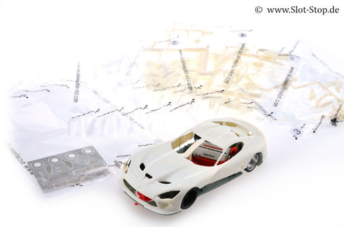 "Scaleauto Viper GTS-R  ""White racing kit"""