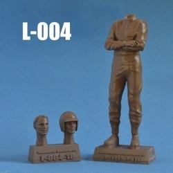 Dan Gurney (unpainted kit, with two heads) 1/18 Scale  *ABVERKAUF*