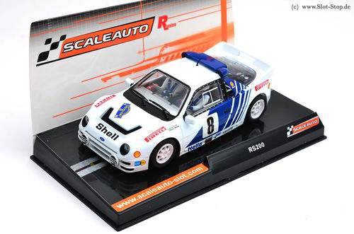 "Scaleauto ""R"" Ford RS200 ""Rally Sweden 1986""  #8"