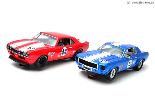 Pioneer Racing Twin Pack #8 - Mustang #22 / Camaro #44