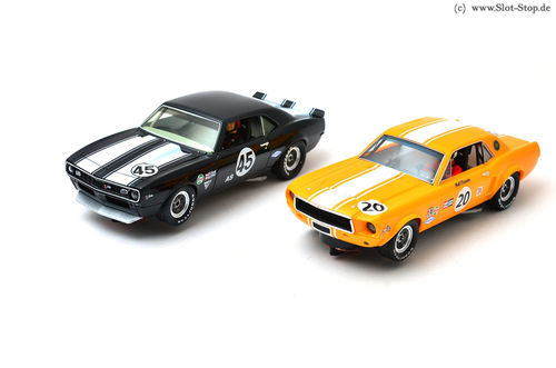 Pioneer Racing Twin Pack #10 - Mustang #20 / Camaro #45