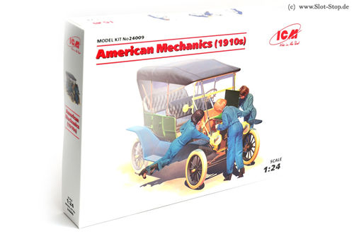 American Mechanic Girls (kit - 1/24 scale)  *ABVERKAUF*