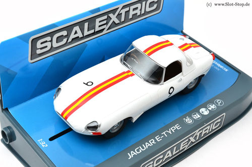 "Scalextric Jaguar E-Type ""Bob Jane"" Bathurst 1965  #9"