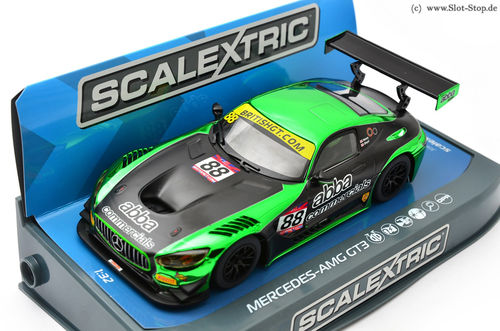 "Scalextric Mercedes AMG GT3 ""ABBA""  #88"
