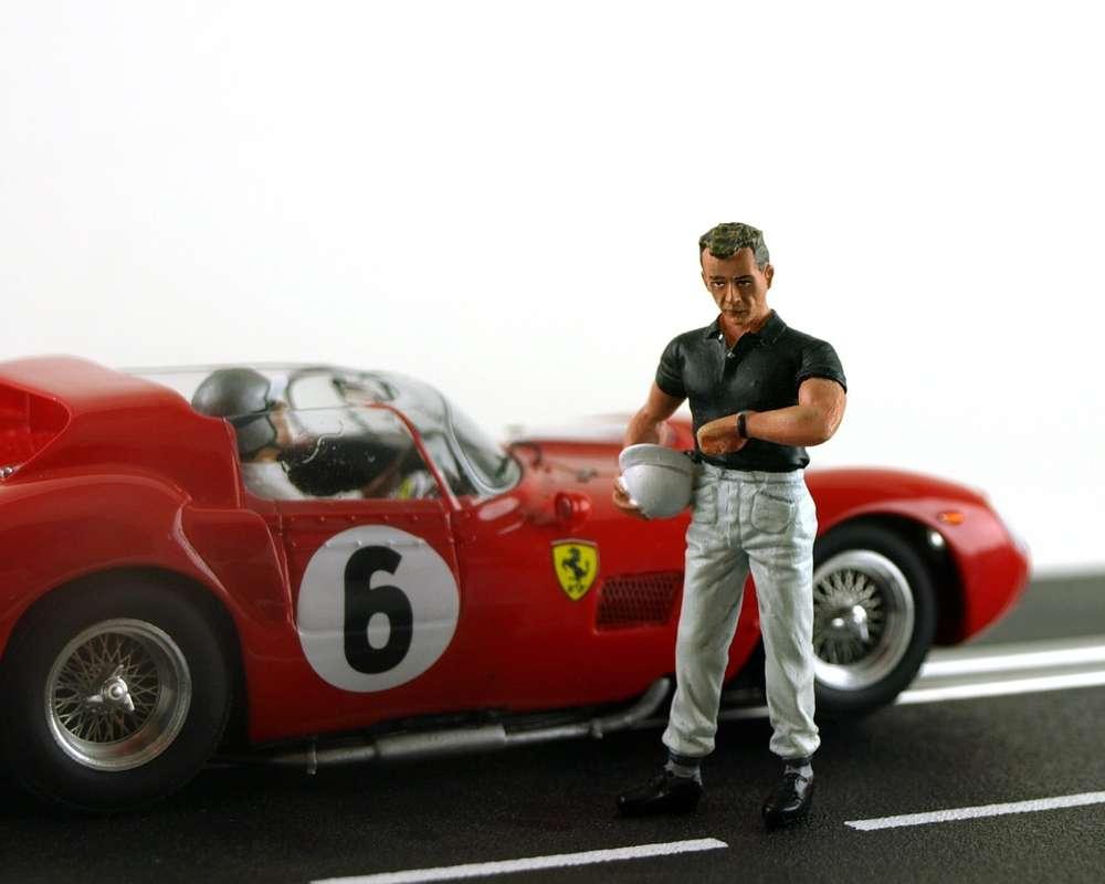 LeMans Miniatures Fahrerfigur \
