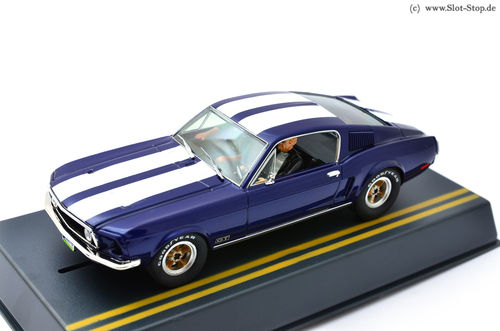 Pioneer Mustang GT Fastback - Blue + Stripes