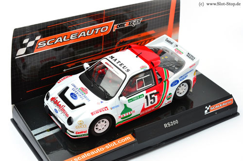 "Scaleauto Ford RS200 ""Rally Portugal 1986""  #15"