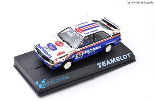 "TeamSlot Audi Quattro A2 Rally Ypres24 1986 ""Rothmans"" #15"