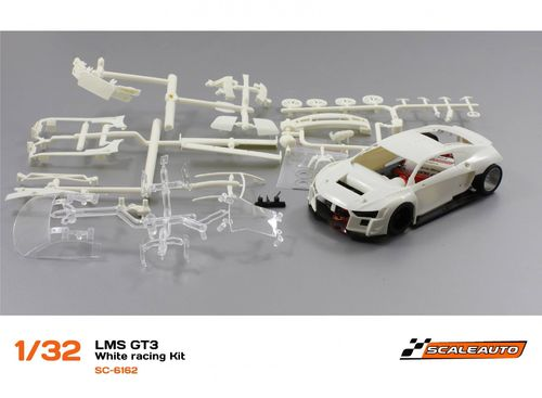 "Scaleauto LMS GT3  ""White racing kit"""