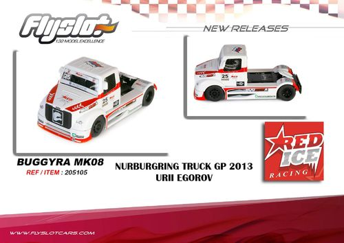 "Fly Truck Buggyra MK R08 ""Red Ice"" Nürburgring GP 2013"