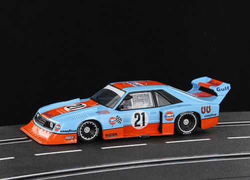 "Sideways Mustang Turbo ""GULF"" #21 *Historical Colors*"