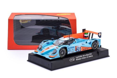 "Slot.it Lola B12/80 - Le Mans 2012 ""GULF"" #29"