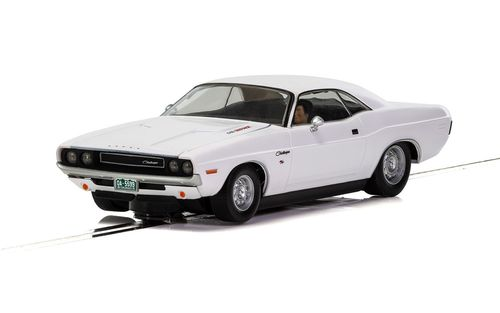 "Scalextric Dodge Challenger ""White"" Street-Car"
