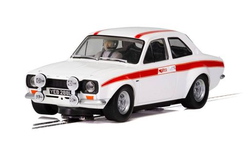 Scalextric Ford Escort MK1  Mexico - Diamond White