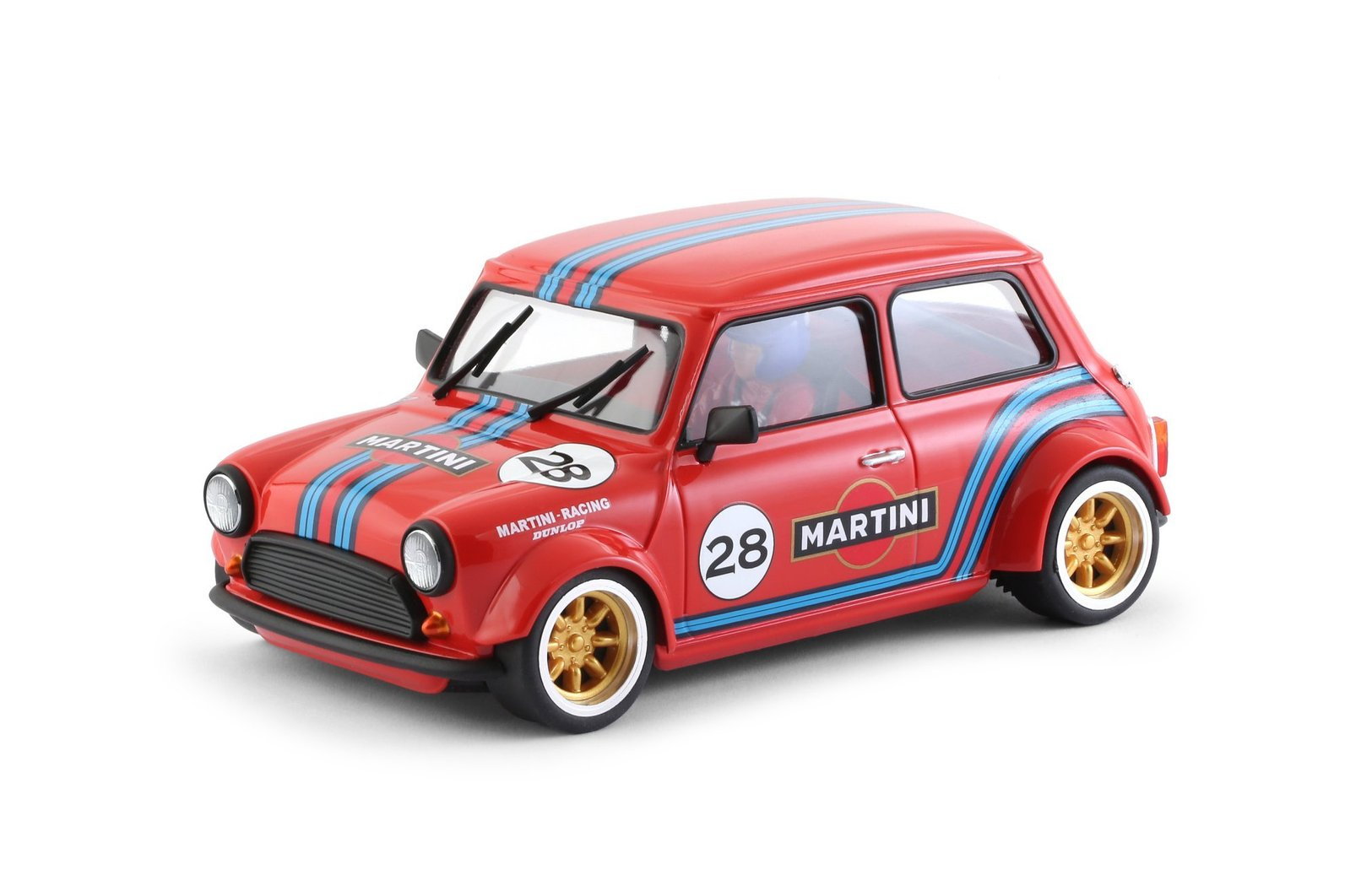 brm 090r brm mini cooper 28 red 1 24 slotcar zwerge. Black Bedroom Furniture Sets. Home Design Ideas