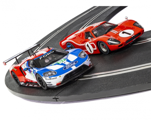 Scalextric Doppelset 50 Years Ford at Le Mans