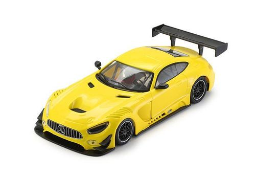 NSR Mercedes AMG GT3 - Yellow Test Car