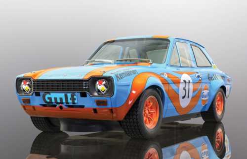 Scalextric Ford Escort MK1 - GULF Edition  #31