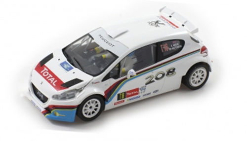 "Scaleauto ""R"" Peugeot 208 T16 - Rally Ypress 2013"