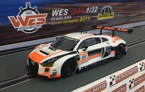 "Scaleauto R8 LMS GT3 ""WES 2019"" LIMITED"