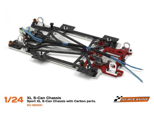 "Scaleauto Chassis ""1/24 Sport XL"" - Kit für S-Can Motor"
