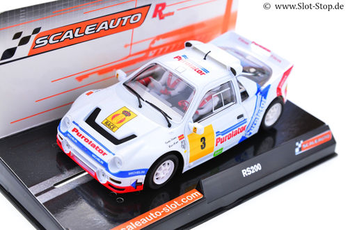 "Scaleauto ""R"" Ford RS200 ""Rally RACE""  #3 *Sainz*"