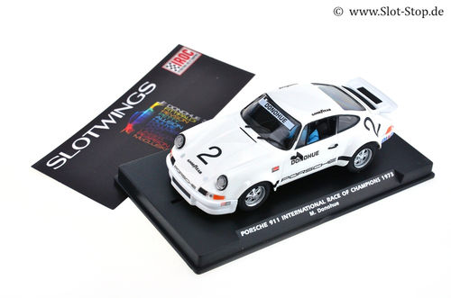 Slotwings Porsche 911 - Race of Champions 1973  #2  M. Donohue