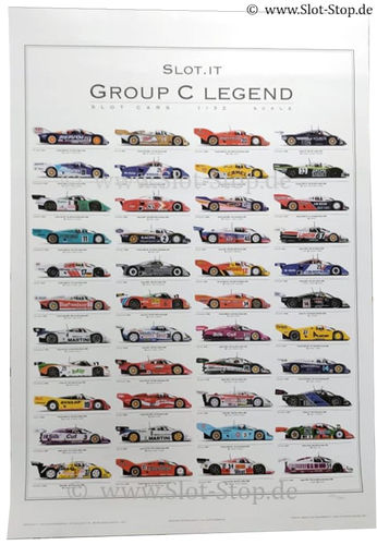 "Slot.it Poster ""Group C Legends"" - Signiert"