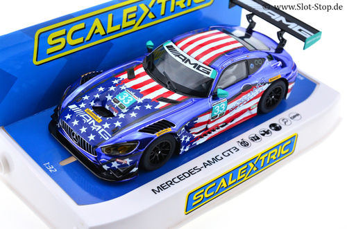 "Scalextric Mercedes AMG GT3 ""Riley Motorsports""  #33"