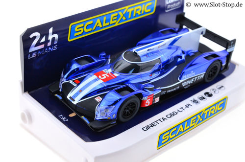 Scalextric Ginetta G60-LT-P1  -  24h Le Mans 2018 #5