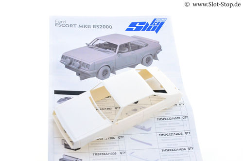 TeamSlot Ford Escort MKII RS2000 - WhiteKit