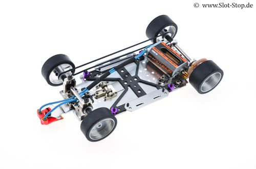 "Scaleauto Chassis ""SWRC 1/24 V2"" - 4x4 Chassis"