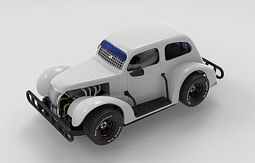 "Pioneer Legends Racer ""Chevy Sedan WhiteKit"""