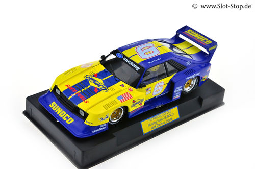"Sideways Mustang Turbo ""Sunoco"" #6 *Historical Colors*"