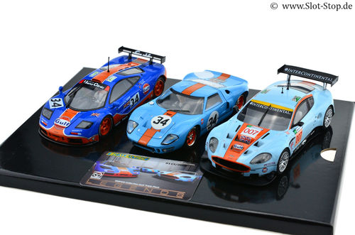 Scalextric ROFGO GULF Triple Pack
