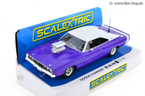 "Scalextric Dodge Charger ""Purple"" Tuner-Car"