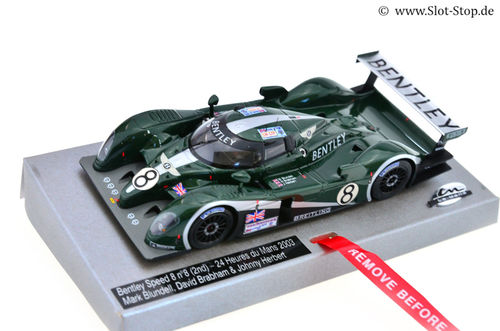 LMM Bentley Speed 8 - 24h Le Mans 2003  #8